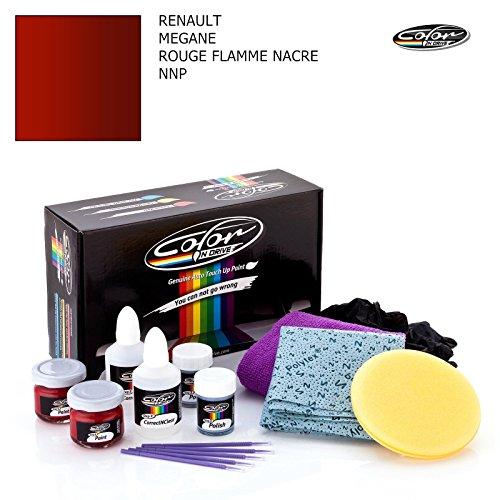RENAULT MEGANE / ROUGE FLAMME NACRE - NNP / SYSTEME DE PEINTURE DE RETOUCHE COLOR N DRIVE POUR LES ECLATS DE PEINTURE ET RAYURES / PACK PRO