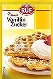 Ruf Vanillin - Zucker, 48er Pack (48 x 80 g Packung)