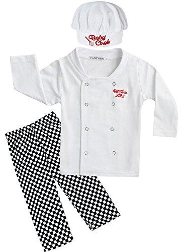 ck Set Langarm Top und Hose mit Hut 18-24 Months (Kleinkind Koch Kostüme)