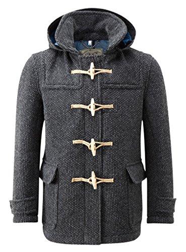 55c51502210765 Montgomery Uomo Mayfair Cappotto Carbone (Large)... - Abbigliamento