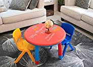 Kids Table and Chair | Children's Art Activity Tables with 2 Colorful Chairs | Study Activity Desk Chair S
