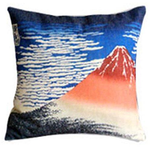 Black Temptation Style Japonais Coussin d'oreiller Confortable pour la Maison/Sushi Restaurant 45x45cm -A18