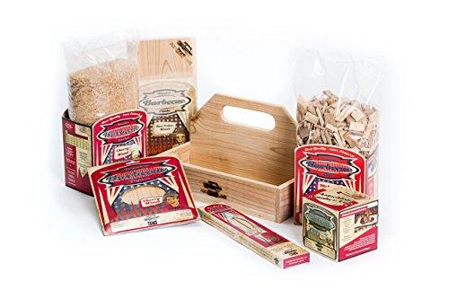 Axtschlag Räucherset, Einsteigerset – Starterbox, 6 BBQ Wood Produkte