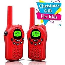 Walkie Talkies, niños Walkie Talkies largo sonó dos manera Radis para niños juguetes