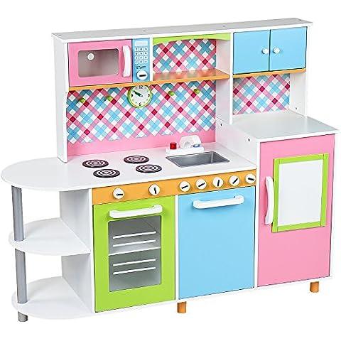Infantastic - Cocinita de juguete con frigorífico y lavavajillas