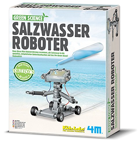 4M 68554 68554-Green Science-Salzwasser Roboter