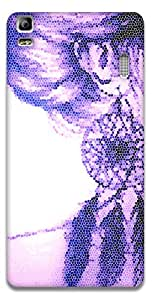 The Racoon Grip printed designer hard back mobile phone case cover for Lenovo A7000. (Asymmetric)