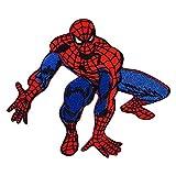 Real Empire Parche bordado con el logotipo de Spiderman Marvel DC Comics para coser o coser, diseño de superhéroe