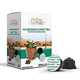 Must Espresso Italiano 96 Capsule Compatibili Dolce Gusto Tè Verde alla Menta in Foglie Marrakech Mint - 6 confezioni da 16 capsule