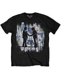 Pink Floyd T Shirt Wish You Were Here Painting Splatter offiziell Herren Nue