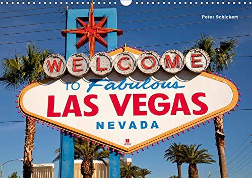 Las Vegas (Wandkalender 2020 DIN A3 quer): 13 Reisefotos aus dem einzigartigen Spielerparadies in den Vereinigten Staaten (Monatskalender, 14 Seiten ) (CALVENDO Orte)