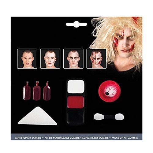 Schminkset Make Up Kit Zombie Eye Styling Schminke Karneval Blut Kunstblut 45085 day of the (Zombie Kit Eye)