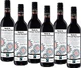 Fairtrade Merlot / Cabernet Sauvignon Blanc Südafrika Trocken (6 x 0.75 l)