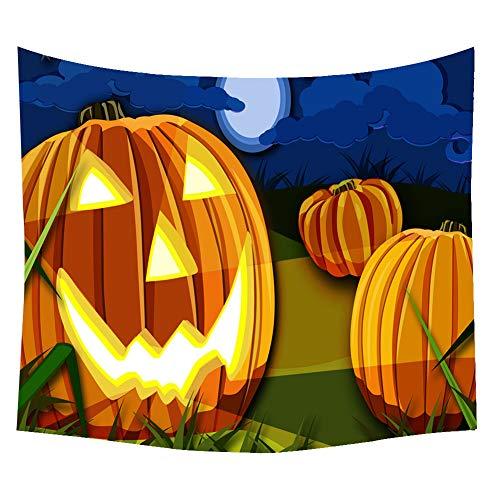 Topdo 1 Pieza Tapiz de Halloween con Colgante Decorativo de Pared con