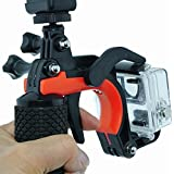 Emater 3 In 1 Multi-Functional Buoyancy Bar?Shutter Trigger Floating Hand Grip Stick/Phone Clamp For Opro Hero3 / Hero3+ / Hero4,Telesin Dome Port And Xiaomi Yi Action Cameras