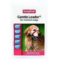 Beaphar Gentle Leader Hundehalfter, Größe M, rot