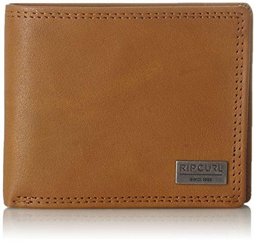 Rip Curl Herren Clean RFID 2 In 1 Geldbörse, Beige (Tan), 2.5x9.4x11 cm