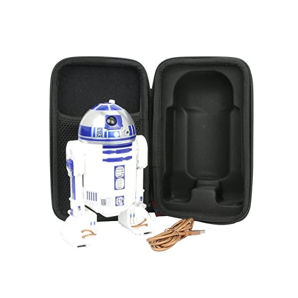 para Star Wars – R2d2 Inteligente EVA Funda Estuche Bolso by Khanka