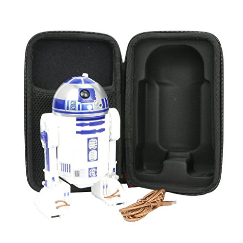 para Star Wars - R2d2 Inteligente EVA Funda Estuche Bolso by Khanka