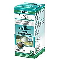 JBL Fungol Plus 250 1006300 Heilmittel gegen Pilzinfektionen für Aquarienfische, 200 ml