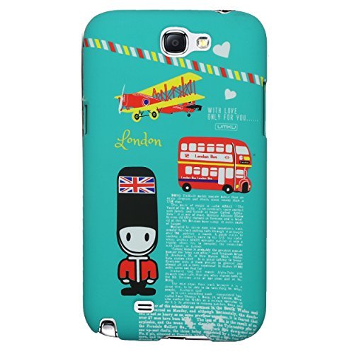 Heartly World Series Printed Design High Quality Hard Bumper Back Case Cover For Samsung Galaxy Grand 2 G7106 G7102 - London Green  available at amazon for Rs.199