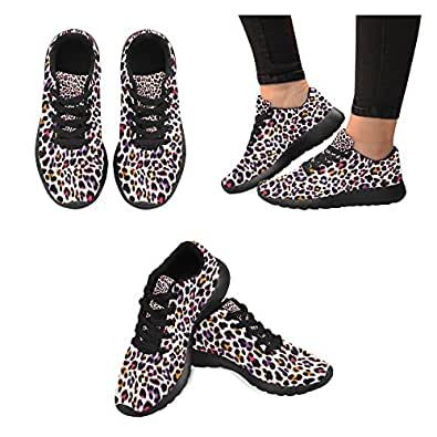 Zenzzle colorful Leopard Pattern Print On Women's Running