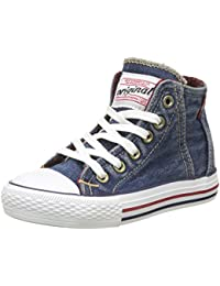 Levi's Jungen Original Red Tab Hi Checker Hohe Sneaker