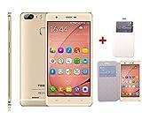 Teeno S12 Smartphone 4G Débloqué (Ecran: 5.5 pouces - Double SIM- Double caméras - Android ) + 8 Accessories