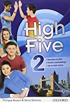 High five. Student's book-Workbook. Con espansione online. Con CD Audio. Per la Scuola media: 2