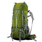 YAAGLE Outdoor Rucksack Trekkingrucksack Camping Rucksack Nylon Bergsteigen Tasche Marken Reise-Tasche (Grün)