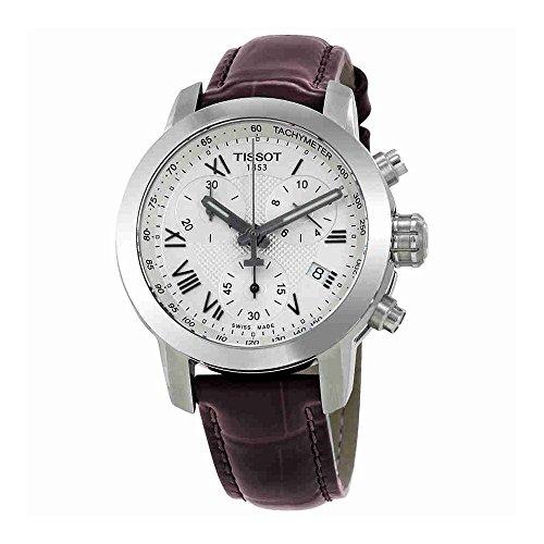 Tissot Orologio Cronografo Quarzo Unisex Adulto con Cinturino in Pelle T055.217.16.033.01