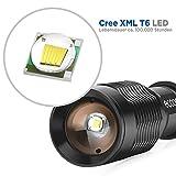 Cree T6 Taschenlampe 1000 Lumen w / Kopfband Halter - 2