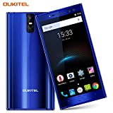 Dual SIM Free Mobile Phone,OUKITEL K3 5.5 inch Four Cameras(2MP+16MP Front, 2MP+16MP Rear) 6000mAh Battery 9V/2A Quick Charge 4G Unlocked Smartphone Android 7.0 Octa Core 4GB RAM 64GB ROM Fingerprint