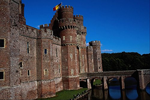 612073 Herstmonceux Castle East Sussex England A4 Photo Poster Print 10x8
