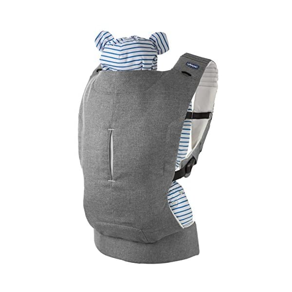 "Chicco myamaki Sling Denim  Suitable from birth. Multi-position: parent facing (0m+), hip position (6m+), back position (6m+) Acknowledged as a ""hip-healthy"" product by the hide (international hip dysplasia institute). 2"