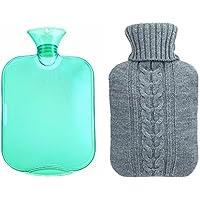 Babao Stricken Wärmflasche,Premium Weich Gestrickte Abdeckung Plüsch Hot Bottle Körperwärmer preisvergleich bei billige-tabletten.eu