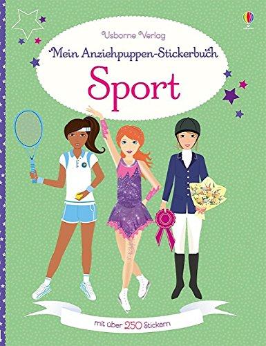 Drei Person Kreative Kostüm - Mein Anziehpuppen-Stickerbuch: Sport
