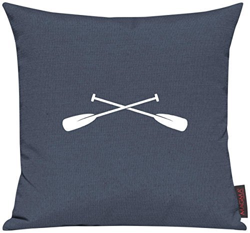 Shirtinstyle Kissenhülle für Auserwählte! Sofakissen Sailing Paddel Set Motive Maritim, Farbe blau (Paddel Farbe)