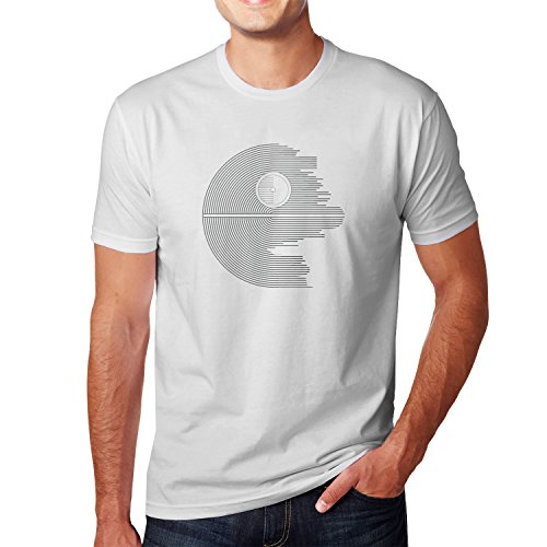 Planet Nerd - Design Star - Herren T-Shirt Weiß