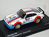 Porsche 911 934 Weiss Valvoline E Sindel 300 Km NÜrburgring 1976 1/64 Minichamps Modell Auto Modellauto