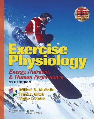 Exercise Physiology: Energy, Nutrition, and Human Performance (Exercise Physiology ( MC Ardle)) by McArdle BS M.Ed PhD, William D., Katch, Frank I., Katch, V (2006) Hardcover