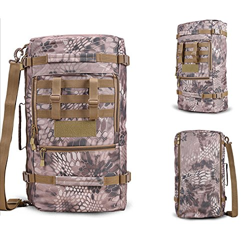 yinggg Leinwand Rucksack Herren Casual Daypacks Travel Tasche für Wandern/Camping/Outdoor desert boa stripe