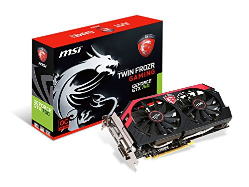 Price comparison product image MSI Nvidia GTX 760 2GB DDR5 TF Fan PCI-E Graphics Card