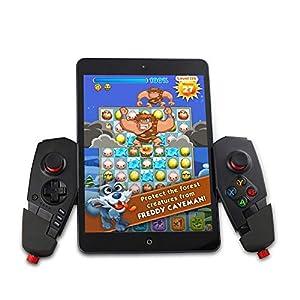 Vernwy Drahtlose Bluetoothgamepad, Support Win Xp/Win7/Win8 System Für Betriebsspiele