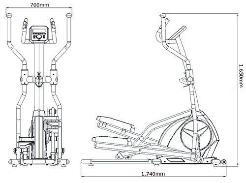 MAXXUS® CROSSTRAINER CX 4.3f Ellipsentrainer klappbar - 6