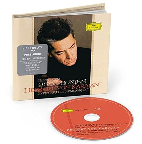Beethoven : 9 Symphonies [Blu-ray audio]
