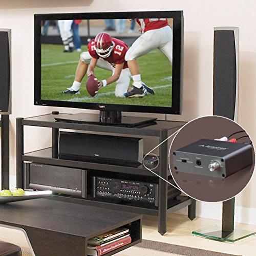 Avantree Audio Konverter Da Wandler DAC Digital zu Analog, Optisch / Koaxial Input, Kopfhörer / Lautsprecher Output, Volume Control, Optisches Kabelenthalten, 192 KHz [2 Jahre Garantie] - 6