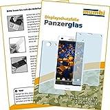 2x mumbi Panzerfolie für Sony Xperia Z3 Compact Glasfolie Hartglas 9H (1 x VORNE und 1 x RÜCK Folie)