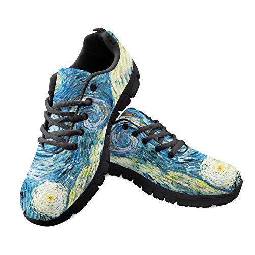 MODEGA Loving Vincent Get Fit Uomo Fitness Sport Walking Running Performance Shoes Scarpe da Ginnastica Leggere