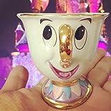 Juego de té La Bella y la Bestia Juego de Copa Hijo de la Sra. Potts: Taza de Té Taza de Café Té Chip Café Regalo encantador